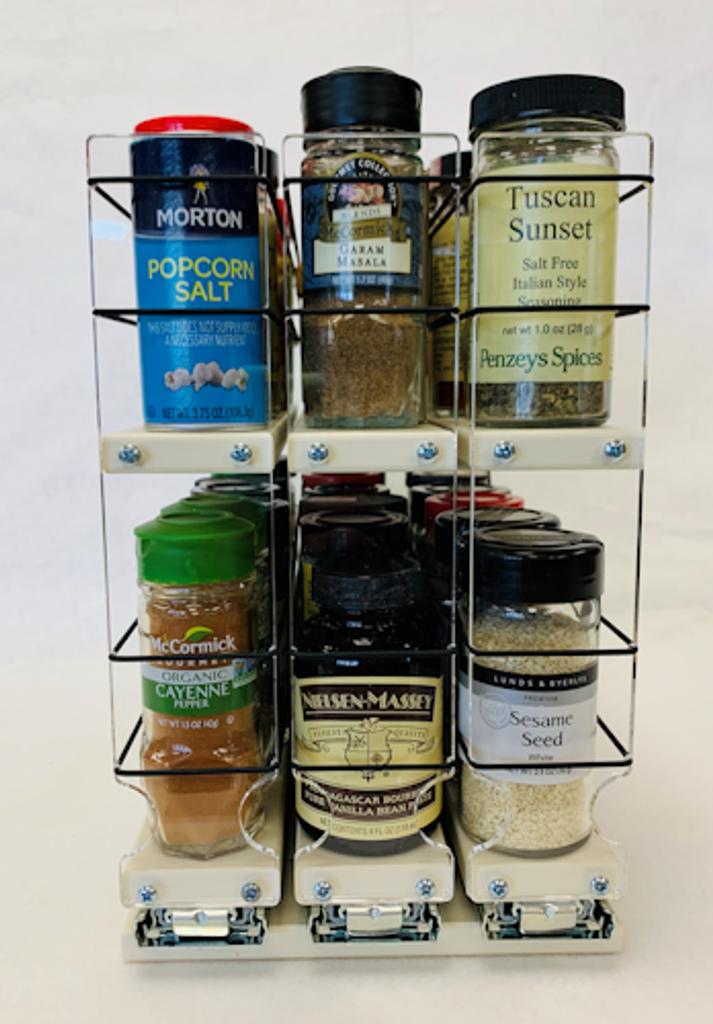 222x2x14 Dc by Vertical Spice - 36 Spice Jar Capacity