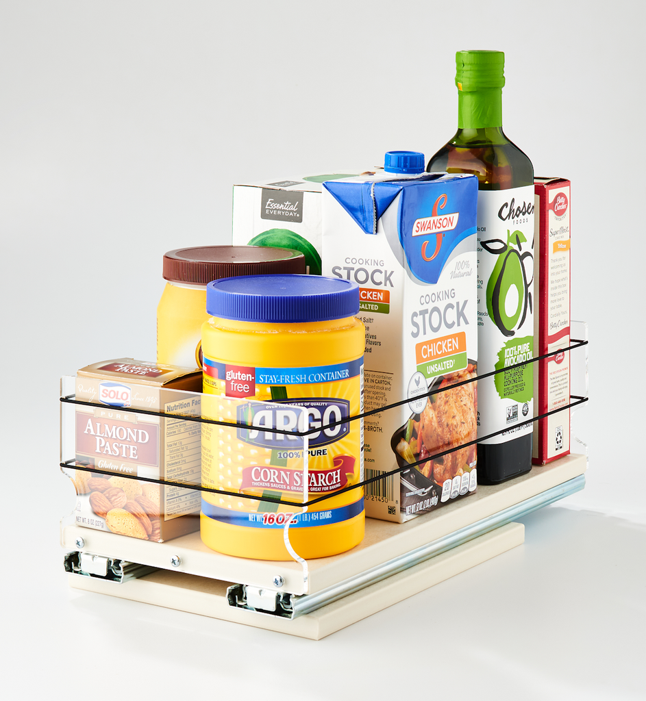 6x1x14 Storage Solution Drawer Cream - Organize and Access a Variety of Containers