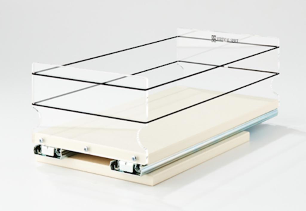 6x1x14 Storage Solution Drawer Cream