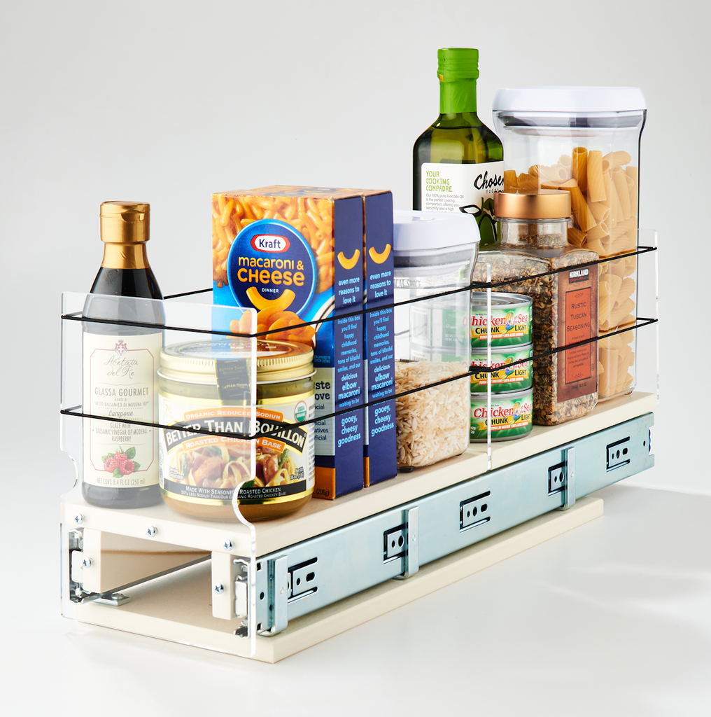 5x1x22 Storage Solution Drawer Cream - Large Container Storage