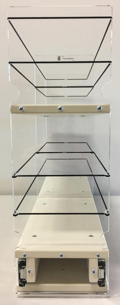 5x2x22 Storage Solution Drawer - Cream, Front view