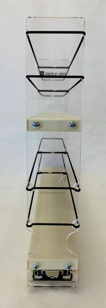 2x2x18 Spice Rack - Empty Front View