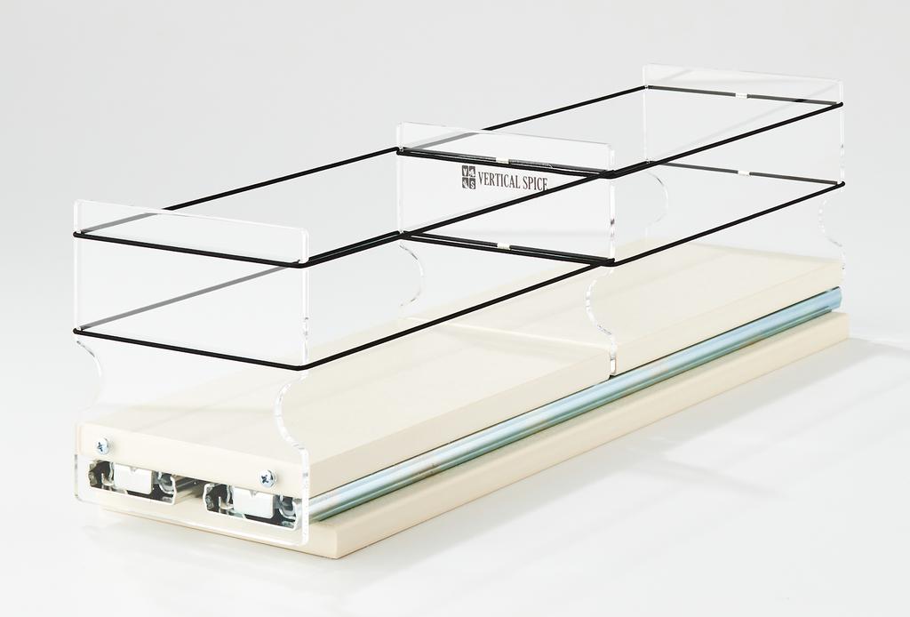 4x1x18 Storage Solution Drawer - Cream