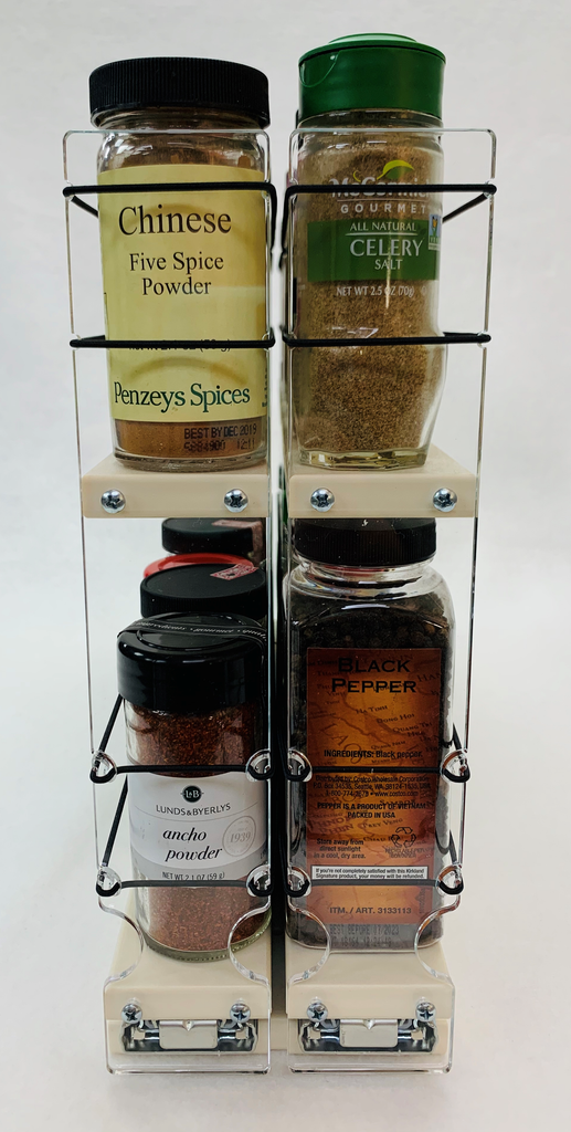 22x2x18 Spice Rack - Front View