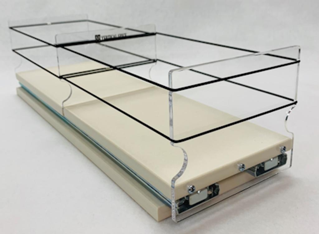 5x1x18 Storage Drawer - Profile View, Ready to Load