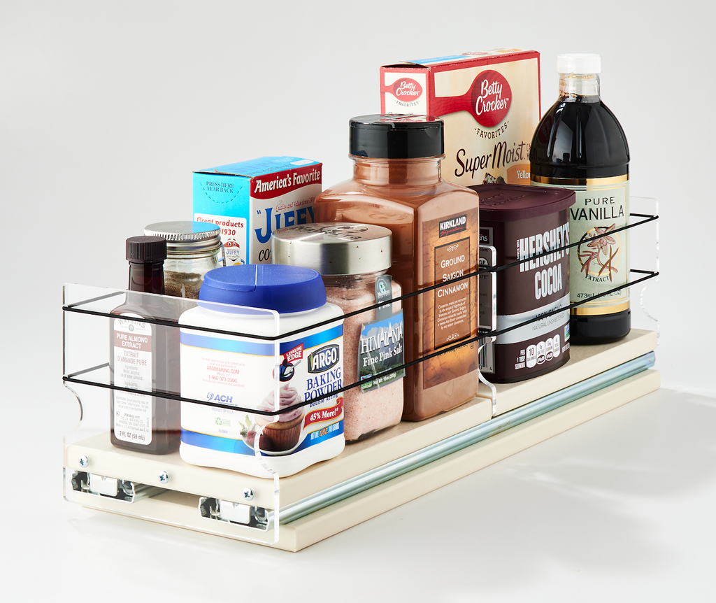 5x1x18 Storage Solution Drawer Cream - One Large Drawer for A Variety of Containers