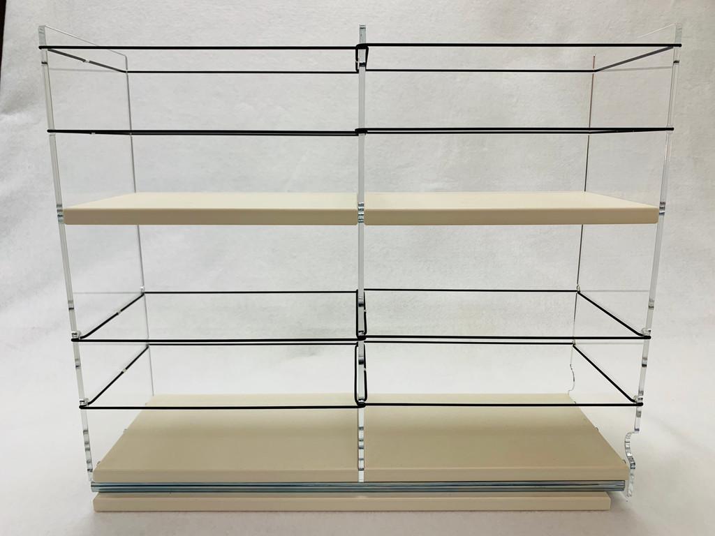 5x2x18 Large Storage Drawer - Empty Side View