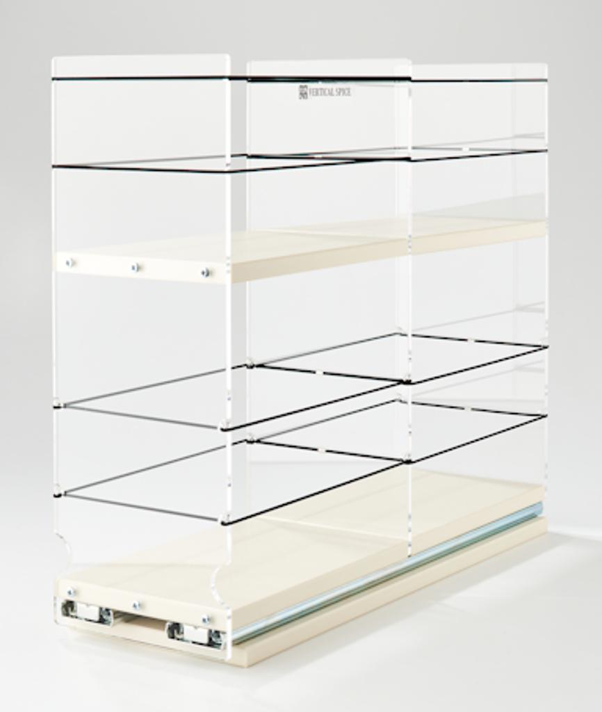 5x2x18 Storage Solution Drawer Cream
