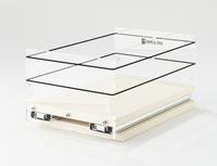 "5x1x11 Storage Solution Drawer Cream Unit: 5.75"" wide x 5.0"" tall x 10.6"" depth Drawers: (1) 5.55"" wide x 10.05"" long"