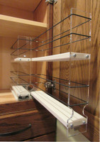 Spice Rack 22 x 2 x 11, Cream - Empty drawer out