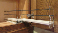 Spice Rack 22 x 1 x 11, Cream - Empty Drawer Out