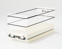 4 x 1 x 11 Storage Solution Drawer Cream