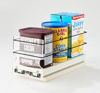 "4 x 1 x 11 Storage Solution Drawer Cream Unit: 4.6"" wide x 5.0"" tall x 10.6"" depth Drawers: (1) 4.4"" wide x 10.05"" long"