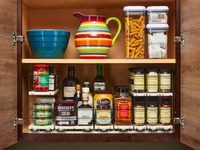 x11 Depth Vertical Spice Organization Drawers for Cabinet Storage Solution