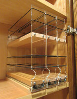 222x2x11 Spice Rack, Maple Ready for Loading