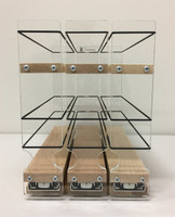 222x1.5x11 Spice Rack, Maple - Front View
