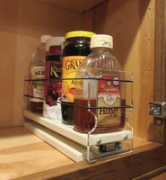 3x1x11 Spice Rack, Maple - Front View