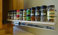 2x1x22 Spice Rack Drawer - Maple