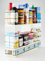 4x2x22 Storage Solution Drawer Cream - Compact Organization of Multiple Jars, Boxes and Containers