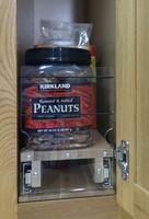 Spice Rack 5x1x22, Maple - Full In Cabinet