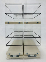 Spice Rack 33x2x11, Cream, Front View
