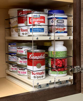 "Spice Rack 33x2x11, Cream Unit: 6.9"" wide x 10.75"" tall x 10.6"" depth Drawers: (2) 3.25"" wide x 10.05"" long"