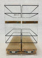 Spice Rack 33x2x11, Maple, Front View