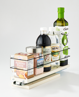 33x1x14 Spice Rack Drawer Cream - Access and Organize a Variety of Different Containers