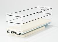 4x1x14 Storage Solution Drawer Cream
