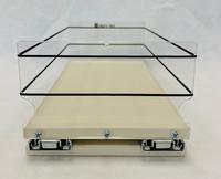 6x1x14 Storage Solution Drawer - Cream Front View