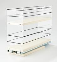 4x2x14 Storage Solution Drawer Cream