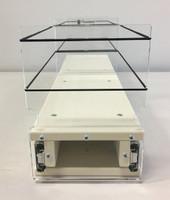 5x1x22 Storage Solution Drawer - Cream, Front view
