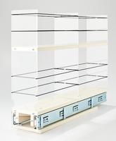 4x2x22 Storage Solution Drawer Cream