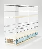 5x2x22 Storage Solution Drawer - Cream