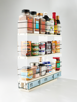 3x3x22 Spice Rack Drawer Cream - Full Depth Storage