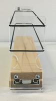 Spice Rack 2x1x11, Maple - Front View