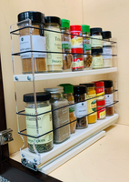 2x2x14DC Spice Rack Full Cabinet Access