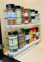 2x2x14DC Spice Rack Full Cabinet Access