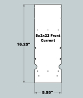 5x2x22 Replacement Front - New/Current