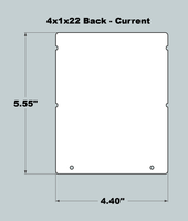 4x1x22 Replacement Back - New/Current