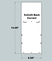 5x2x22 Replacement Back - New/Current