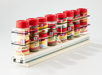 2x1x18 Spice Rack Drawer Cream