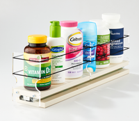 3x1x18 Spice Rack Drawer Cream - You Hide It, We Find It