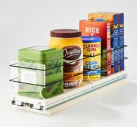 "4x1x18 Storage Solution Drawer Cream - 18"" Full Depth Cabinet Access"