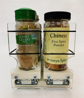 22x1x18 Spice Rack - Front View - Low profile, large capacity