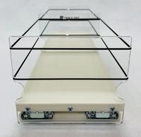5x1x18 Storage Drawer - Front View Empty