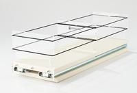 5x1x18 Storage Solution Drawer Cream