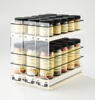222x1.5x11 Spice Rack Cream - Use When 222x2x11 Is Too Tall