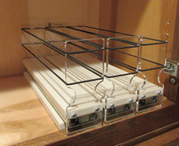 Spice Rack 222x1x11, Cream Empty