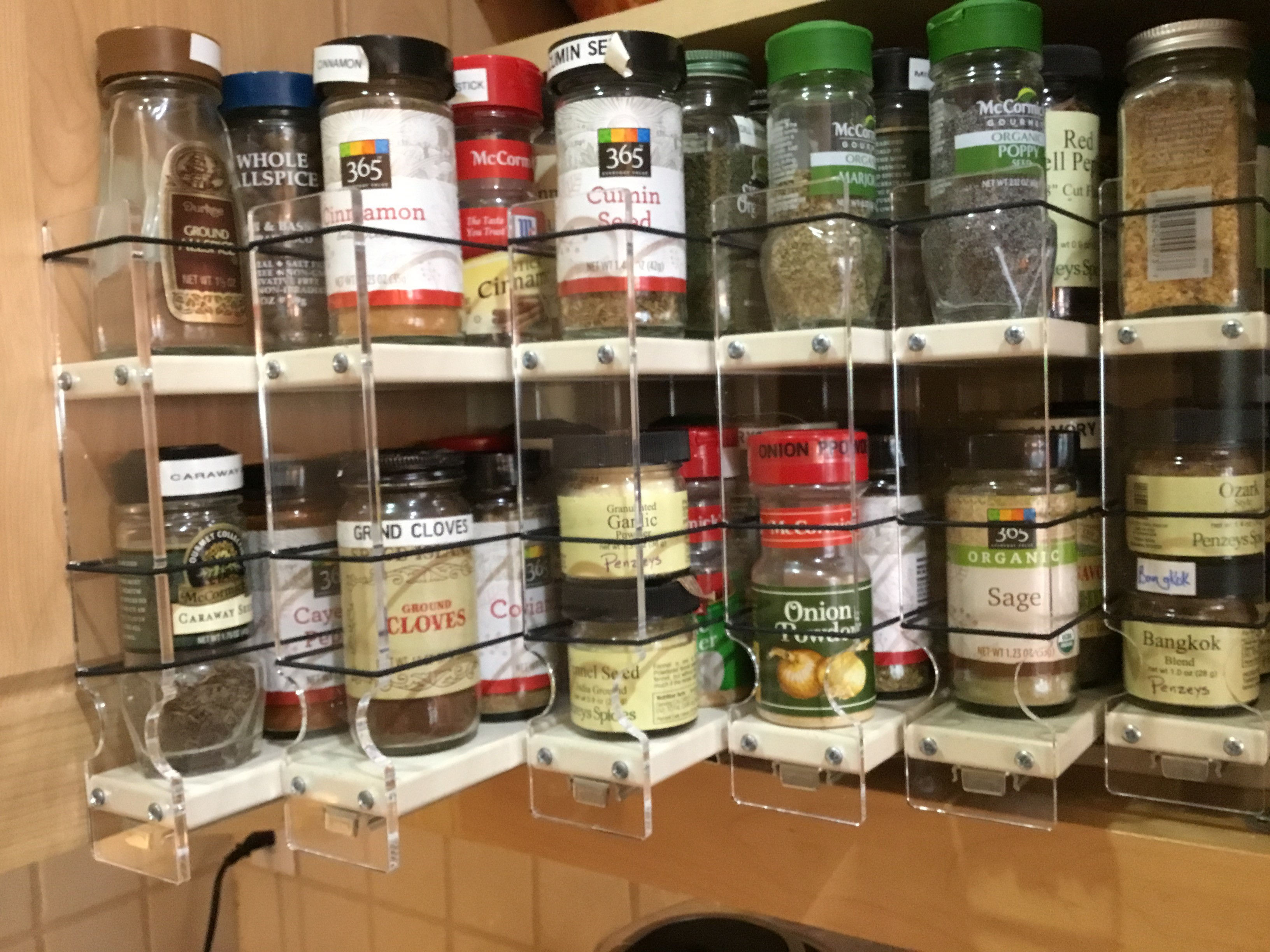 2 inch Spice Racks Drawers